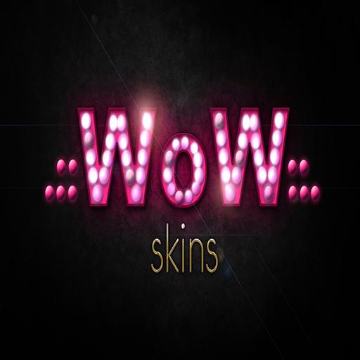 wow skins logo